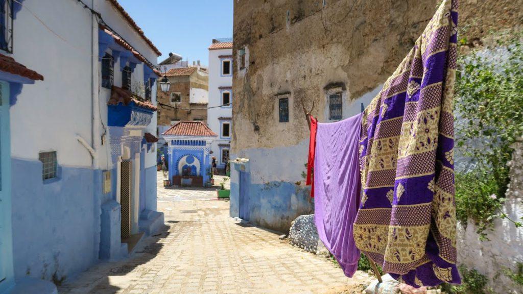Chefchaouen, près de la place El Hauta