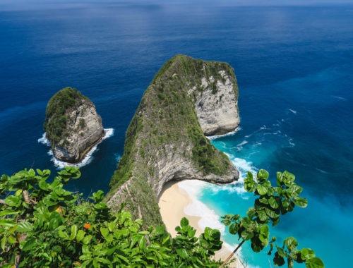 Le roi de Nusa Penida : le rocher T-Rex de Kelingking Beach, Bali
