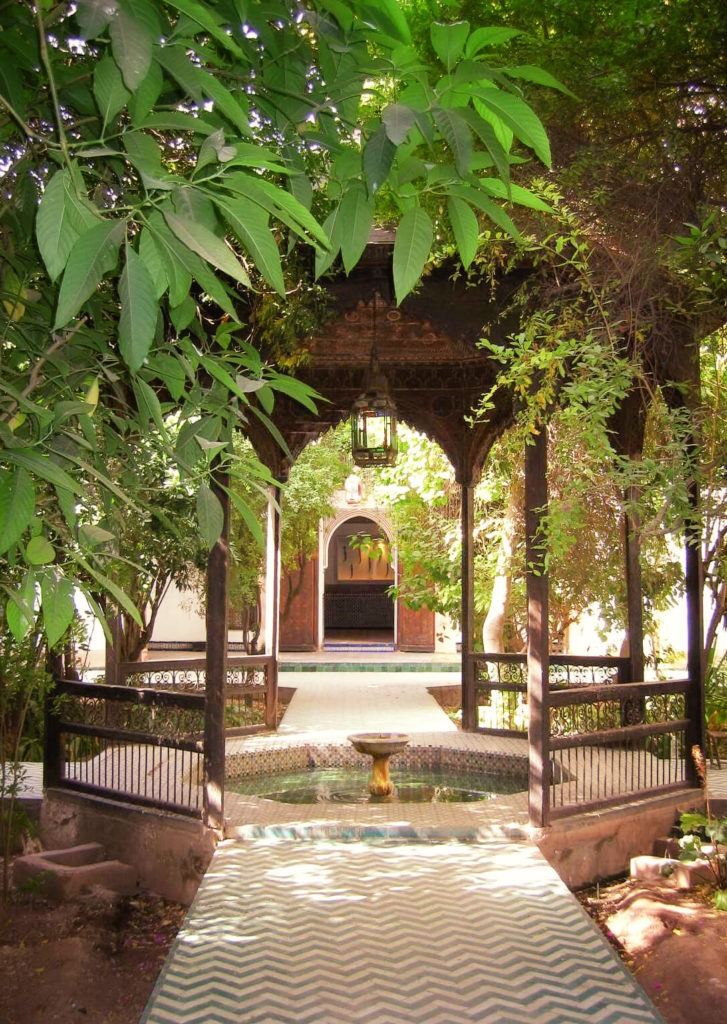 Jardin El Bahia à Marrakech