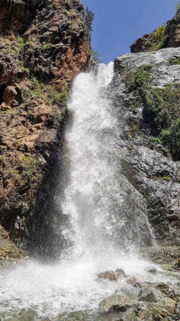 Cascade dans la vallée de l'Ourika