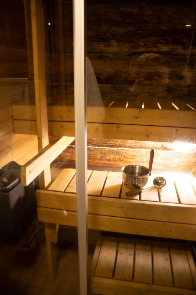 Mini sauna finlandais