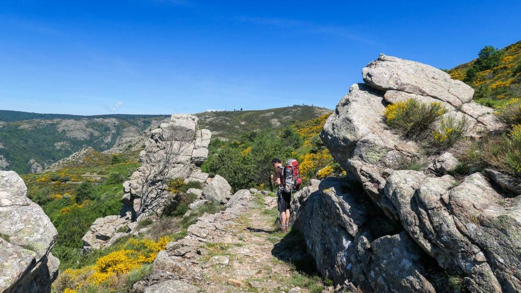 Amas rocheux au niveau du Col de Salis