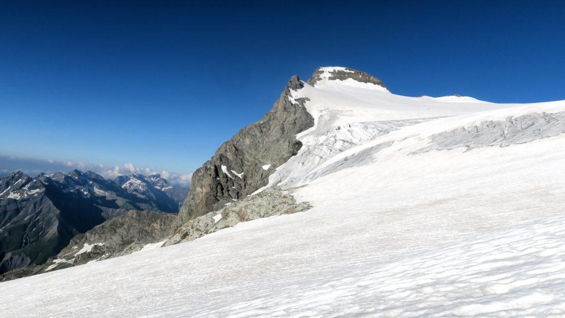 Glacier des Rouies dans les Hautes-Alpes