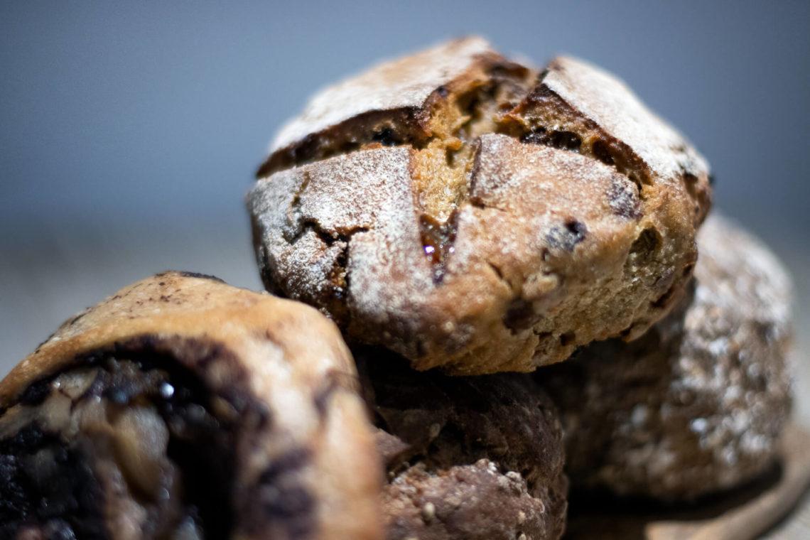 """Pain spécial aux baies de goji de la boulangerie bio """"Au Rythme du Pain"""" à Montpellier"""